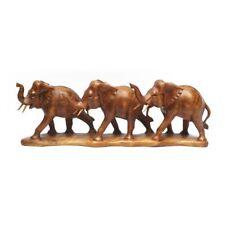 LESTARIE Elefanten Elefant handgeschnitzt Holz NEU