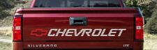 Chevrolet Silverado Tailgate 454ss Vinyl Decal (Any Color)
