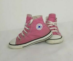 Pink High Top Converse Infant/Toddler/Child Size 9