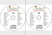 NURSERY RHYMES CD, MUSIC FOR CHILDREN, FUN FOR KIDS, SING-A-LONG, SONGS