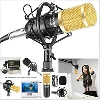 Condenser Microphone Set Broadcasting Studio Recording Professional Mic Kit