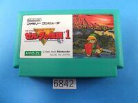 The Legend of Zelda 1 NES nintendo Famicom FC Video Games USED From Japan 6842