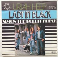 "URIAH HEEP⚠️Neuwertig⚠️1974 - 7""-Lady In Black /Bronze 17759 Germany"