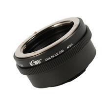 Lens mount adapter compatible Nikon (G) Lens to Canon EOS M Mount
