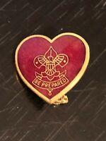 Vintage Collectible Boy Scouts Be Prepared Parents Life Rank Pinback Lapel Pin