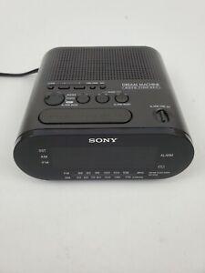 Sony Dream Machine AM/FM Alarm Clock Radio Model ICF-C218 TESTED