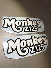 Monkeybike Monkey Bike Z125 New Monkey Stickers