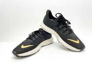 NIKE Quest Women Metallic Gold Marathon Running Shoes Sneakers AA7412-006 Sz 7.5