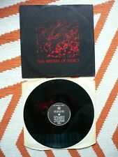 """The Sisters Of Mercy No Time To Cry 12"""" Vinyl UK 1985 Merciful A3/B1 Single"""
