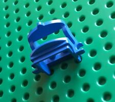 LEGO 4491b HORSE SADDLE. TWO CLIPS. Blue. From sets 6086, 6766, 6090 etc