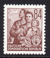 East Germany 84pf Stamp c1953 Unmounted Mint Never Hinged (8181)