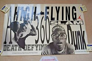 Vintage 1989 NIKE AIR JORDAN IV 4 SPIKE LEE MARS BLACKMON Poster 24 x 36 PRE OWN