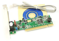 PCI 56K Dial Up Internal Data/Fax Modem for Windows XP Vista Win7/8 32/64 bit IF