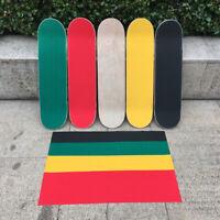 Skateboard Longboard Griptape Grip Tape 83x21.5cm Deck Sandpaper Durable Sticker