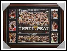2015 AFL PREMIERS HAWTHORN THREE PEAT DELUXE PHOTO COLLAGE FRAMED - AFL OFFICIAL