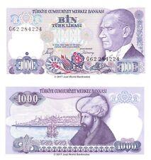 Turkey 1000 Lira 1986 P-196 Banknotes UNC