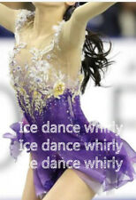 Adult Fashion New Brand Ice Figure Skating Dresses for competition A624
