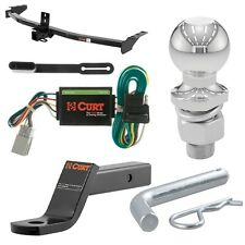 """Curt Class 3 Trailer Hitch Tow Package w/ 2"""" Ball for Acura MDX/Honda Pilot"""
