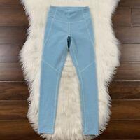Outdoor Voices Women's Size XS Pool Blue 7/8 Warmup Leggings Pants