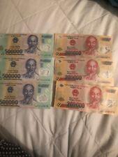 Vietnamese Vietnam dong 1 million dong VND