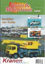 """14 """"Auto In Miniatuur"""" magazines jaargang 2003 tot 2009"""