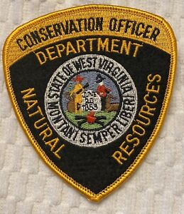 West Virginia Conservation Officer Dept of Natural Resources Police Patch