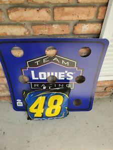 NASCAR Jimmy Johnson seat cushion and wall game set