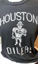 Junk Food Houston Oilers NFL T Shirt Men Gray Medium Football Bum Phillips