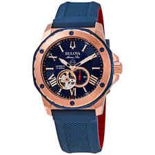 Bulova Marine Star Automatic Blue Dial Men's Watch 98A227