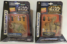 STAR WARS : BATTLE PACK SET 3 & 10. ALIENS & CREATURES, MOS EISLEY SPACEPORT (F)