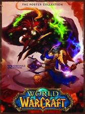 WORLD OF WARCRAFT POSTER COLLECTION ~ 32 QUINTESSENTIAL REMOVABLE POSTERS ~ NEW