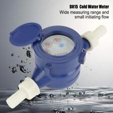 DN15 Hause Kaltwasseruhr Wasseruhr Kaltwasserzähler Wasserzähler 2.5m³/ h blau