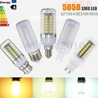 E27/E14/GU10/B22/G9 6W 9W 15W 5050 LED Energy Saving Corn Light Lamp Bulb 220V