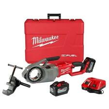 Milwaukee 2874-22Hd M18 Fuel Pipe Threader Kit w/ One-Key New