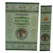 180g varillas de incienso Ayurvedic Nag Champa Masala Incense decoración aroma