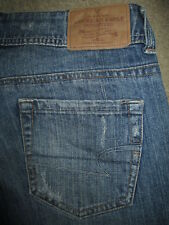 AMERICAN EAGLE AE Artist Boot Stretch Blue Denim Jeans Women Size 8 Short x 29.5