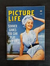 Picture Life Pin Up Magazine  August 1955 - Summer Games You Can Play with Girls