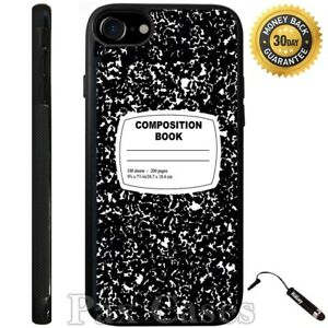 Composition Notebook Funny Case For iPhone 6S 7 Plus Samsung Galaxy S7 S8 Plus