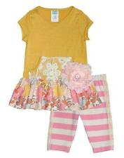 New Girls Boutique Peaches n Cream sz 5 Pink LACE Pocket outfit Clothes Summer