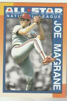 FREE SHIPPING-MINT-1990 Topps #406 Joe Magrane  All-Star Cardinals +BONUS CARDS