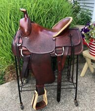 """16"""" CONGRESS LEATHER Western Ranch Horse Roping / Cowboy Saddle"""