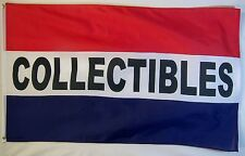 Collectibles Flag 3' X 5' Indoor Outdoor Business (RWB) Banner