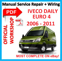 # OFFICIAL WORKSHOP MANUAL service repair FOR IVECO DAILY EURO 4 2006 - 2011