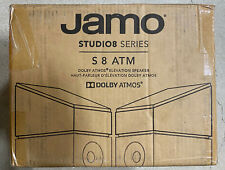 Jamo Studio Series S 8 ATM-BLK Black Atmos Topper Modules - Pair