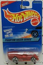 2 POWER RED PISTON PISTONS  530 PHANTOM RACER SERIES HW HOT WHEELS