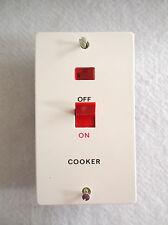 Ashley Cuisinière Commutateur avec neon 45 Amp genuine ashley produit marqué cuisinière