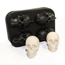 Silikonform Totenkopf Skull Schädel Gießform Gipsform Display Nailart