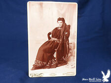 F.A. Place Chicago Illinois Cabinet Portrait Woman Native Dress Middle East? WOW