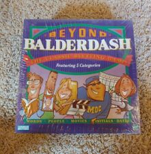 Beyond Balderdash Parker Bros 1995 Board Game Good NEW