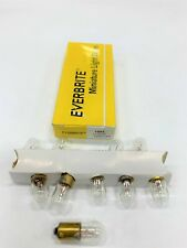NEW 1 package of 10 individual Everbrite 1893 Automotive Light Bulbs